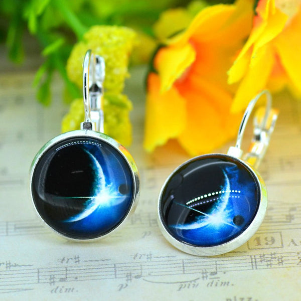 Galaxy Earring Space Earrings Unique Girl Gift - Ashlays - 9