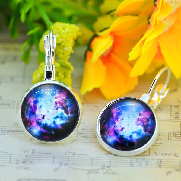 Galaxy Earring Space Earrings Unique Girl Gift - Ashlays - 11
