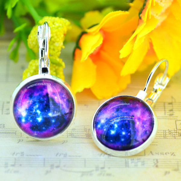 Galaxy Earring Space Earrings Unique Girl Gift - Ashlays - 6