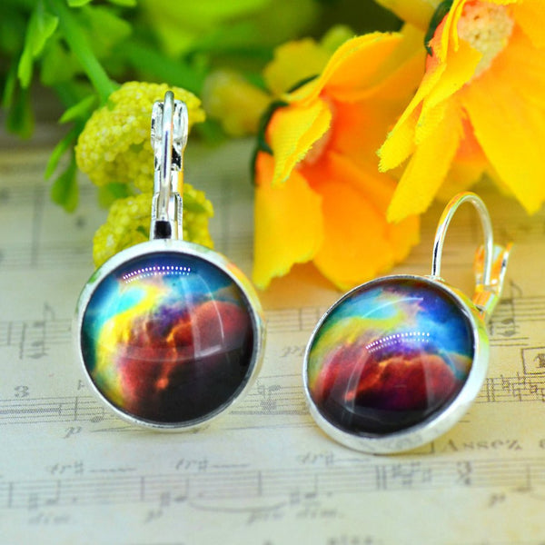 Galaxy Earring Space Earrings Unique Girl Gift - Ashlays - 10