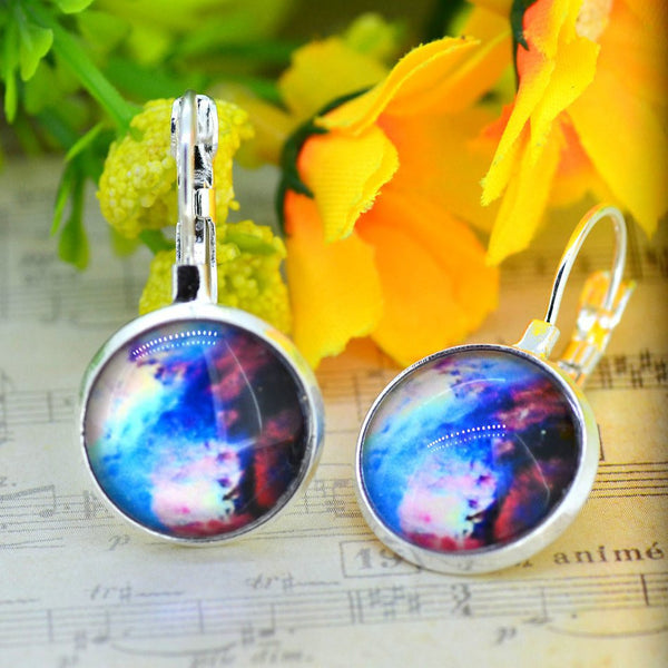 Galaxy Earring Space Earrings Unique Girl Gift - Ashlays - 8
