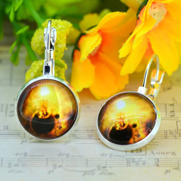Galaxy Earring Space Earrings Unique Girl Gift - Ashlays - 5