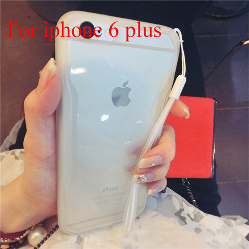 "Transparent Cell Phone Case for iphone 6 4.7"" 6 5.5"" Soft TPU Drop Resistance Full Surround Design - Ashlays - 19"