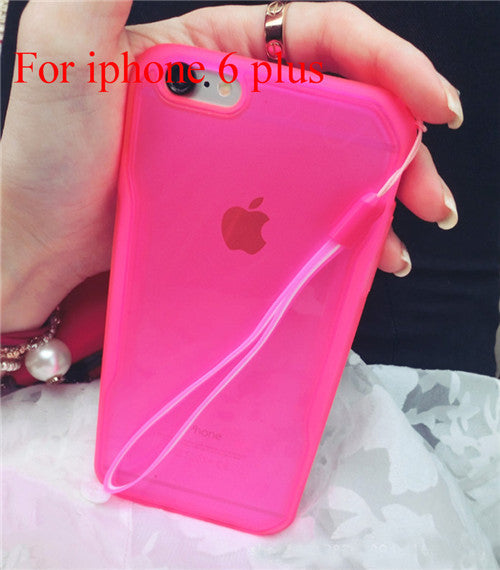 "Transparent Cell Phone Case for iphone 6 4.7"" 6 5.5"" Soft TPU Drop Resistance Full Surround Design - Ashlays - 10"