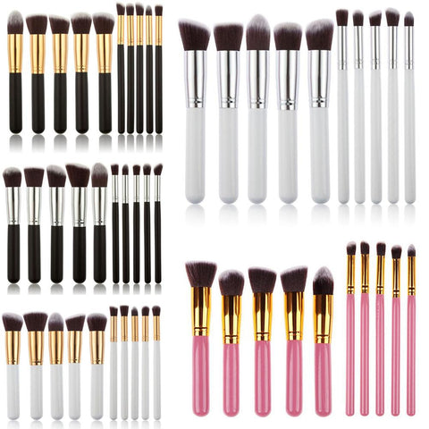 10Pcs Pro Makeup Blush Eyeshadow Blending Set - Ashlays - 1