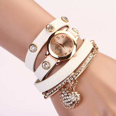 Leather Wrist Watch - Ashlays - 3