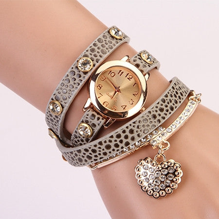Leather Wrist Watch - Ashlays - 4