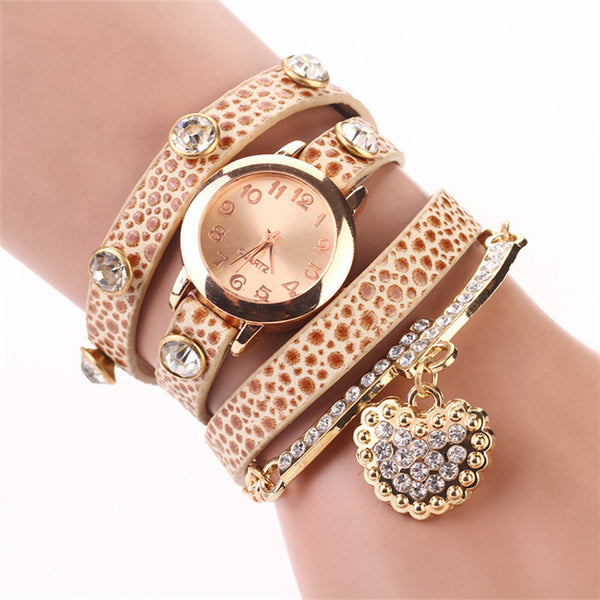 Leather Wrist Watch - Ashlays - 7