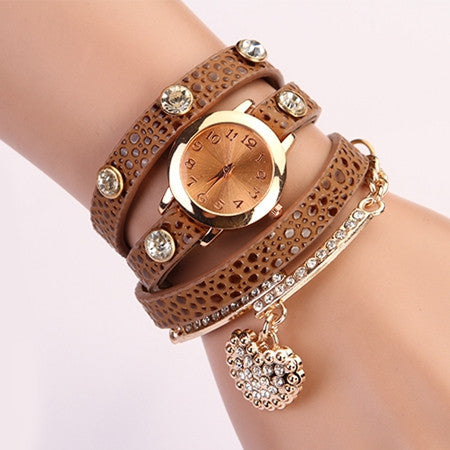 Leather Wrist Watch - Ashlays - 2