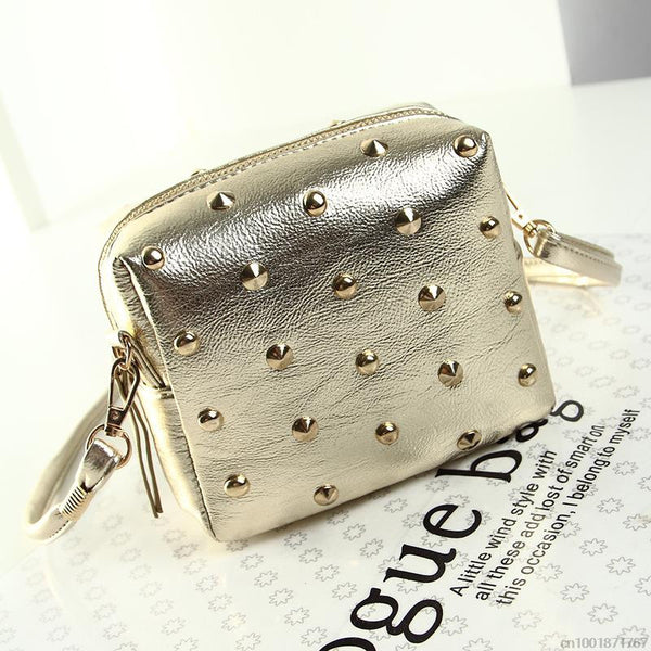 Rivet  Mini Messenger Bag - Ashlays - 1