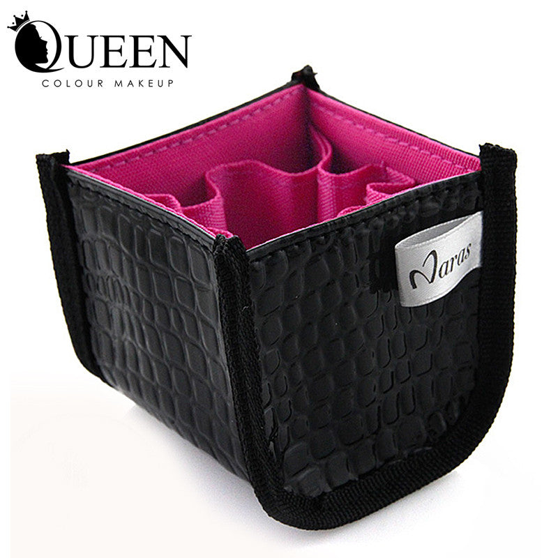 Professional Makeup Brush Cosmetic Beauty Make up  set  Leather Case bag - Ashlays