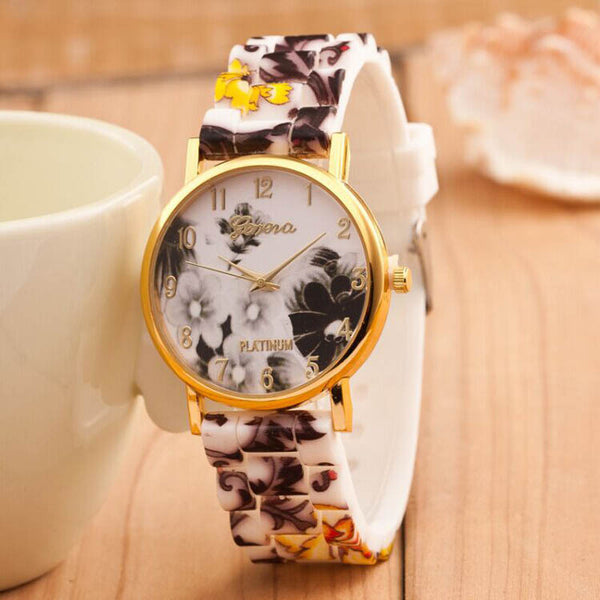 Quartz Floral Wrist Watch - Ashlays - 6