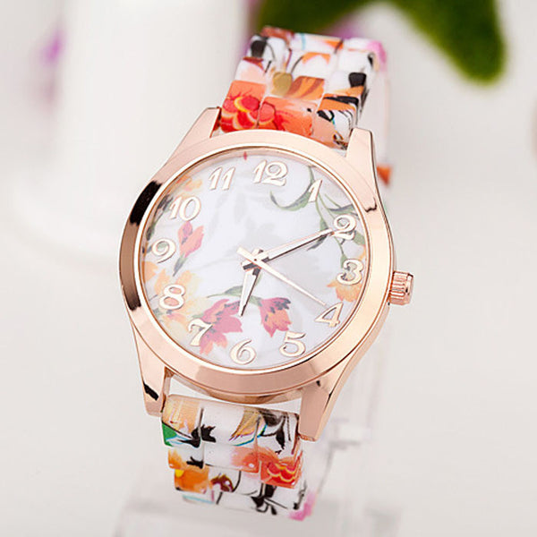 Quartz Floral Wrist Watch - Ashlays - 9