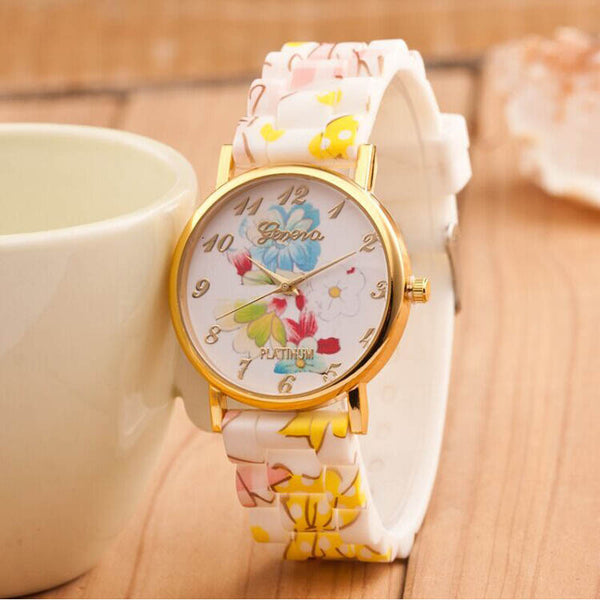 Quartz Floral Wrist Watch - Ashlays - 2