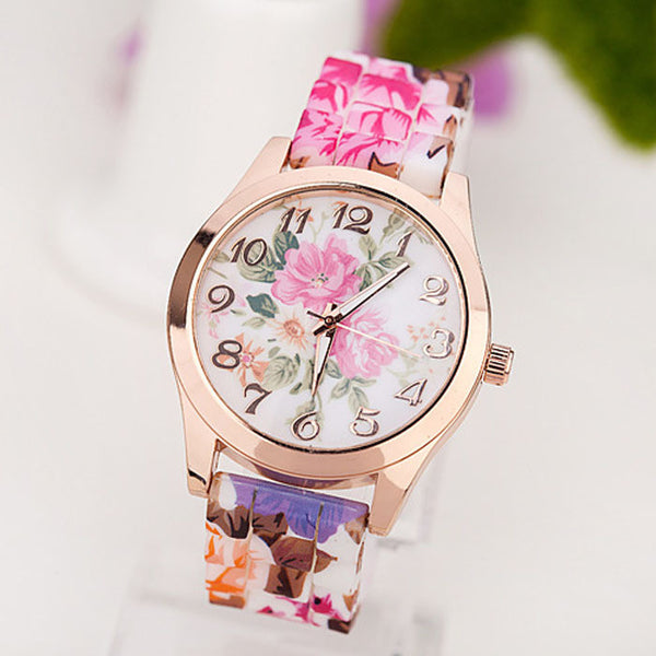 Quartz Floral Wrist Watch - Ashlays - 7