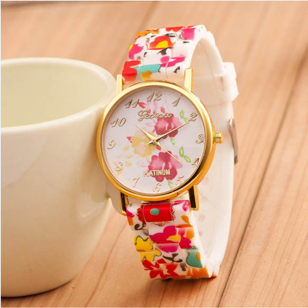 Quartz Floral Wrist Watch - Ashlays - 3