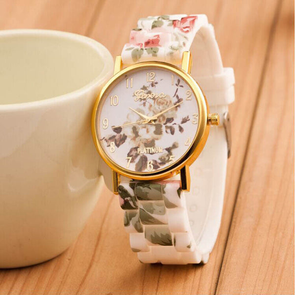 Quartz Floral Wrist Watch - Ashlays - 8