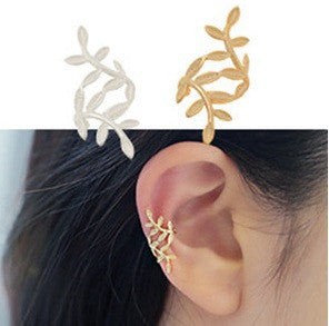 Leaf Clip Earring for Women - Ashlays
