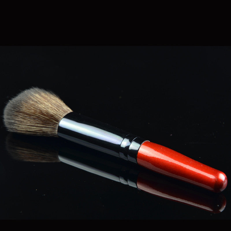Wooden Handle Foundation Makeup Brush - Ashlays