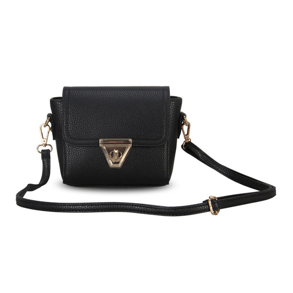 Women Messenger Bag Pu Leather Shoulder Bag Clutch Purse - Ashlays - 1