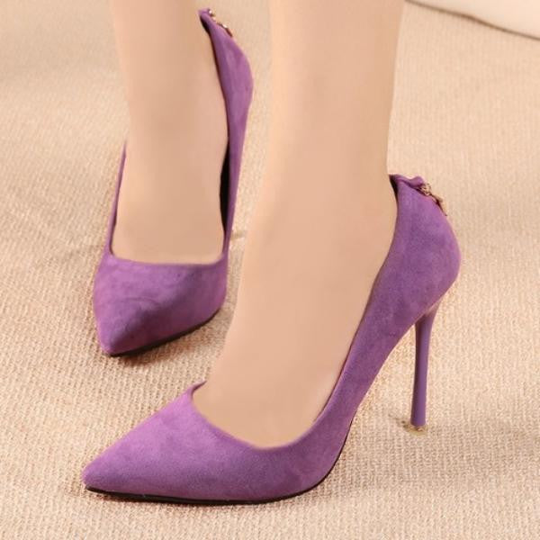 Vintage Sexy Pointed Toe High Heels - Ashlays - 7