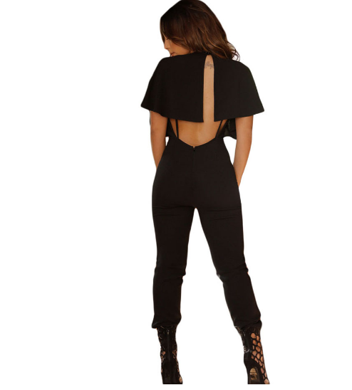 Backless Fitness Overall  Jumpsuit - Ashlays - 2