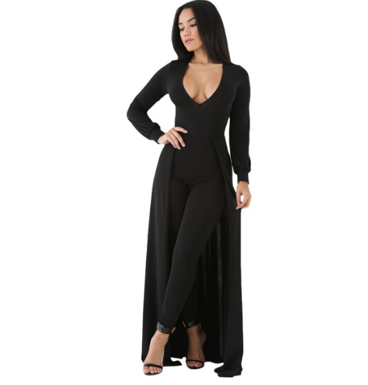 Belted Jumpsuit - Ashlays - 1