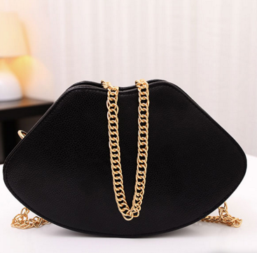 Spike Black Shoulder Bag - Ashlays - 2