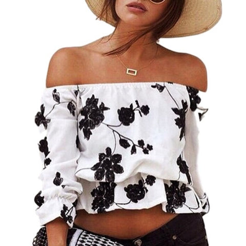 Crop Top Black and White - Ashlays