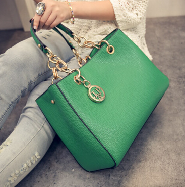 Solid Green Clutches Bag - Ashlays