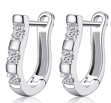 925 Sterling Silver Hoop Earrings - Ashlays