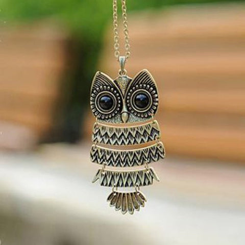 Owl Necklace - Ashlays