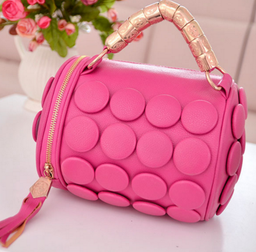 Rose Leather Clutche Bag - Ashlays - 1