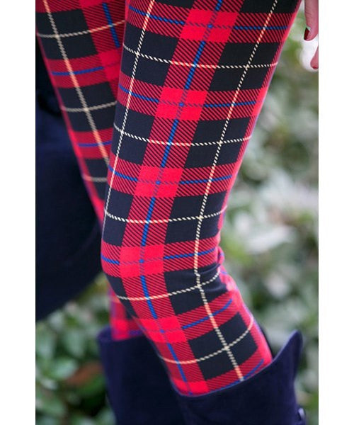 Plaid Women's Leggings - Ashlays