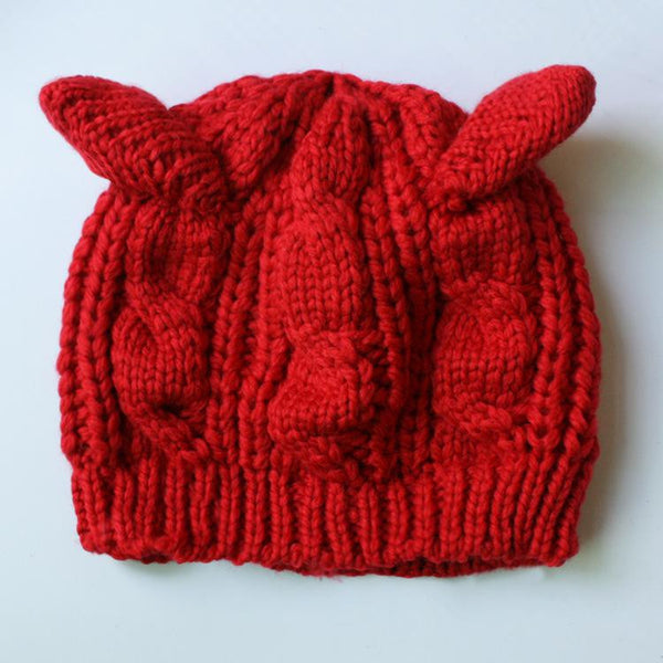 Cat Ear Beanie - Ashlays - 4