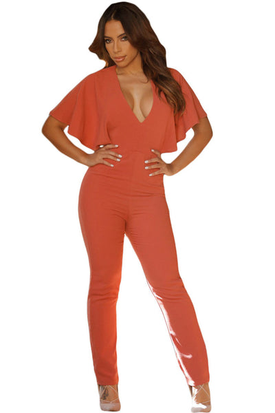 Backless Fitness Overall  Jumpsuit - Ashlays - 3