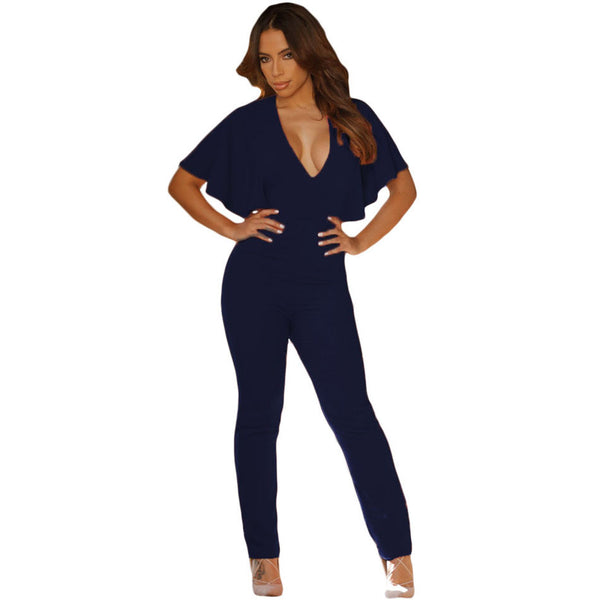 Backless Fitness Overall  Jumpsuit - Ashlays - 4