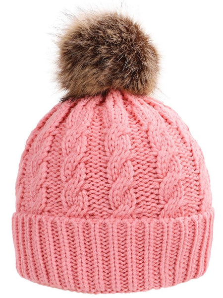 Pompom Beanie Hat - Ashlays - 7
