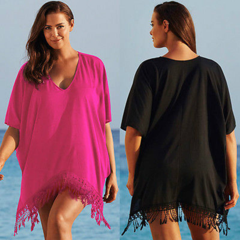 Plus Size Cover-up Smock - Ashlays