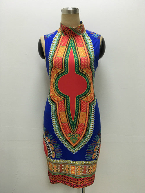 New African Style Bodycon Dress - Ashlays - 2
