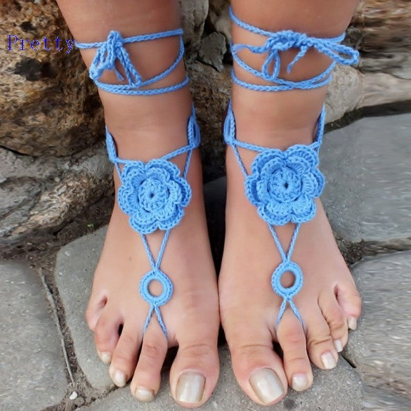 Barefoot Sandal Shoes Foot Jewelry - Ashlays - 2