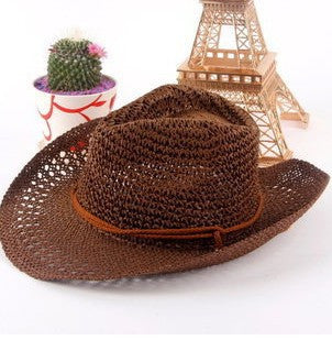 Straw Cowboy Beach Hat - Ashlays - 2