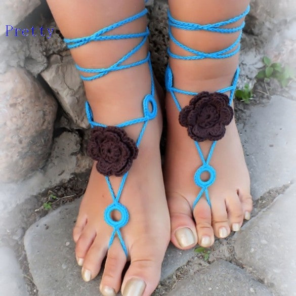 Barefoot Sandal Shoes Foot Jewelry - Ashlays - 4