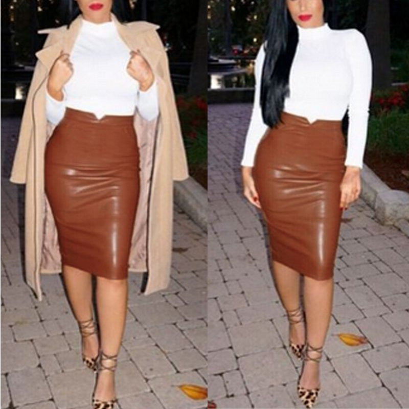 Slim Hip Pencil Skirt - Ashlays - 2