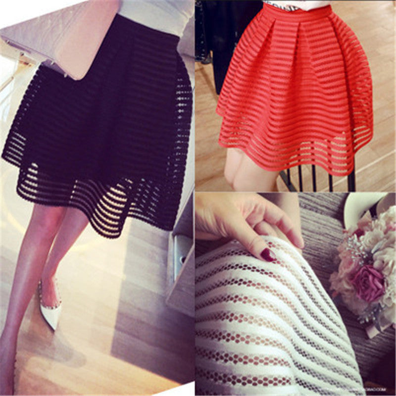 Casual Retro Ball Skirt - Ashlays