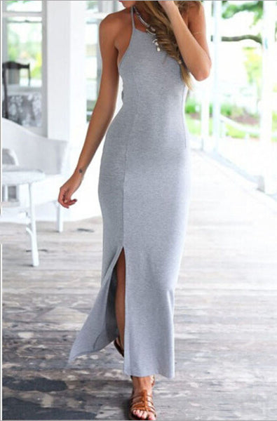 Spaghetti Strap Long Maxi Dress - Ashlays - 2