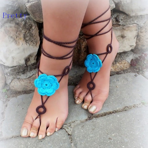 Barefoot Sandal Shoes Foot Jewelry - Ashlays - 1