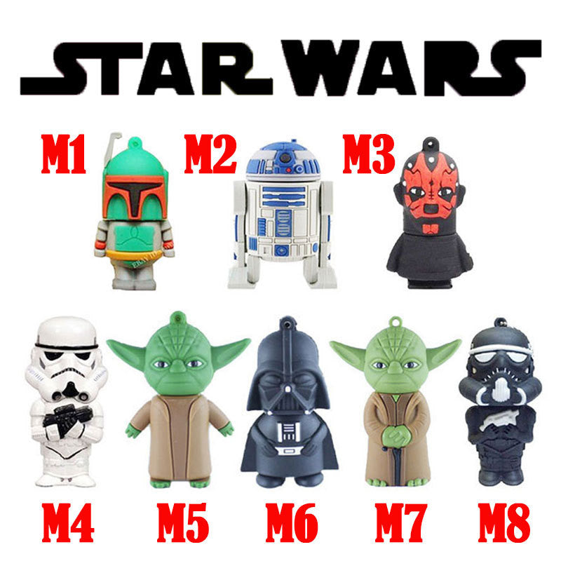 u disk The Star wars Movie usb flash drive 2gb 4gb 8gb 16gb 32gb flash usb memory stick pen drives gifts disk - Ashlays