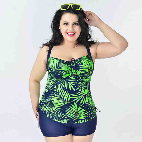 Plus Size Swimwear 2 Piece Set - Ashlays - 4