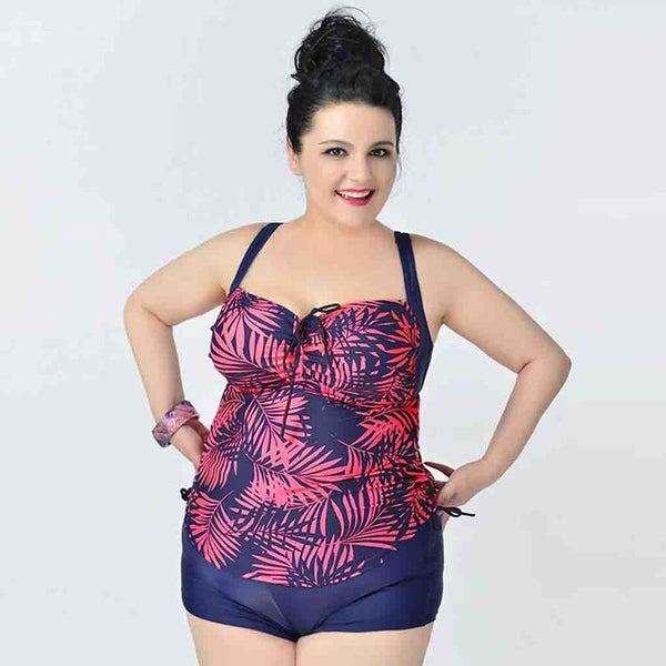 Plus Size Swimwear 2 Piece Set - Ashlays - 5